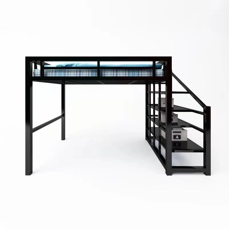 Fashion design folding metal bunk <strong>bed</strong> with loft style 2019 kening new design