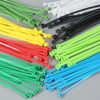 Self locking cable tie white black multi color brand new material nylon 66 water soluble cable ties