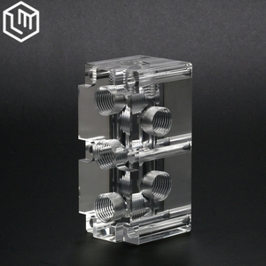 support to map processing high precision 5axis pmma plastic cnc machining parts