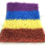Red Yellow Blue Purple color Artificial Grass for Commercial Decoration