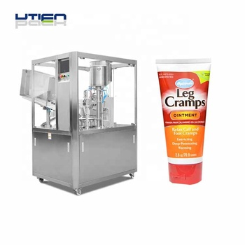 Ultra power auto gel cream lotion tube filling and sealing machine