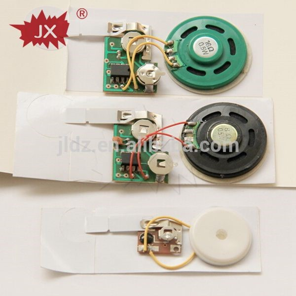 Electronic Mini Speaker Music Card Mechanism Recordable Greeting – Recordable Birthday Card
