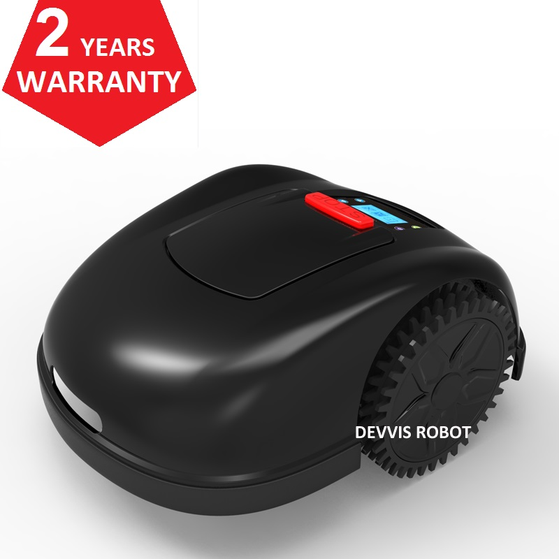 NO TAX For EU Country Robot Lawn Mower E1600T with 13.2ah Lithium Battery,300m wire,300pcs pegs,20pcs blade