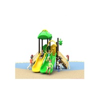 2019 Children Outdoor Playground Small Combination Slide Play Centre Equipment For Kids