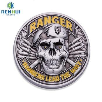 Custom Cheap Folk Art Challenge Antique Engraved Metal Military Coin - Buy  American Coins,Challenge Coins,Cheap Military Coins Product on Alibaba com