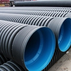 12 15 inch 180mm diameter twin wall road sewer pipe drainage pipes for sale