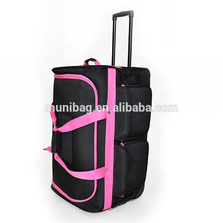 Trolley Dance Bag With Rack Ballet Garment Shoe Compartment Handle Bags Product On