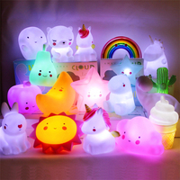 Animal Model Nightlight Children's luminous toys Bedroom wake-up lamp