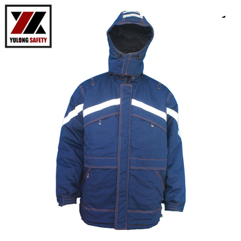 Factory Hot Sale Supplier Firefighter Jackets En 11612 Protection Modacrylic Flame Proof Jacket