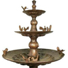 Waterfall Decoration outdoor Resin dolphin fountain Water Fountain Thailand