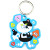 Made in China Die Cut Cheap Plastic Soft Rubber PVC Cartoon Character Keychains