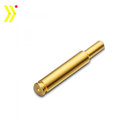 CNC turned brass pogo pin brass connector pins