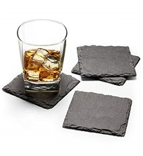 Sublimazione Naturale Tovagliette Set Commercio All'ingrosso <span class=keywords><strong>Slate</strong></span> Coaster