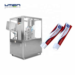 Auto pharmaceutic ointment tube filling sealing machine equipment
