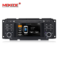 "Mekede 4.3"" Wince6.0 Car DVD Player with GPS Navi Radio Multimedia System for Chrysler Grand Voyager for Jeep Grand Cherokee SWC"