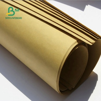 70GSM Smooth Surface And Durable Brown Kraft Paper For Making Shopping Bags