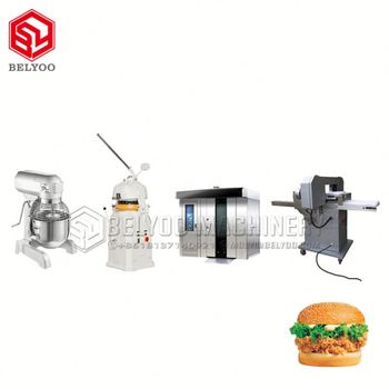 Low Invest Bread Roll Machine Round Flat Bread Roll Machine Bread Slicing Machine With Factory Price