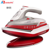 2200W high power professional ceramic/Non-sticking coating soleplate iron steam cordless iron steam