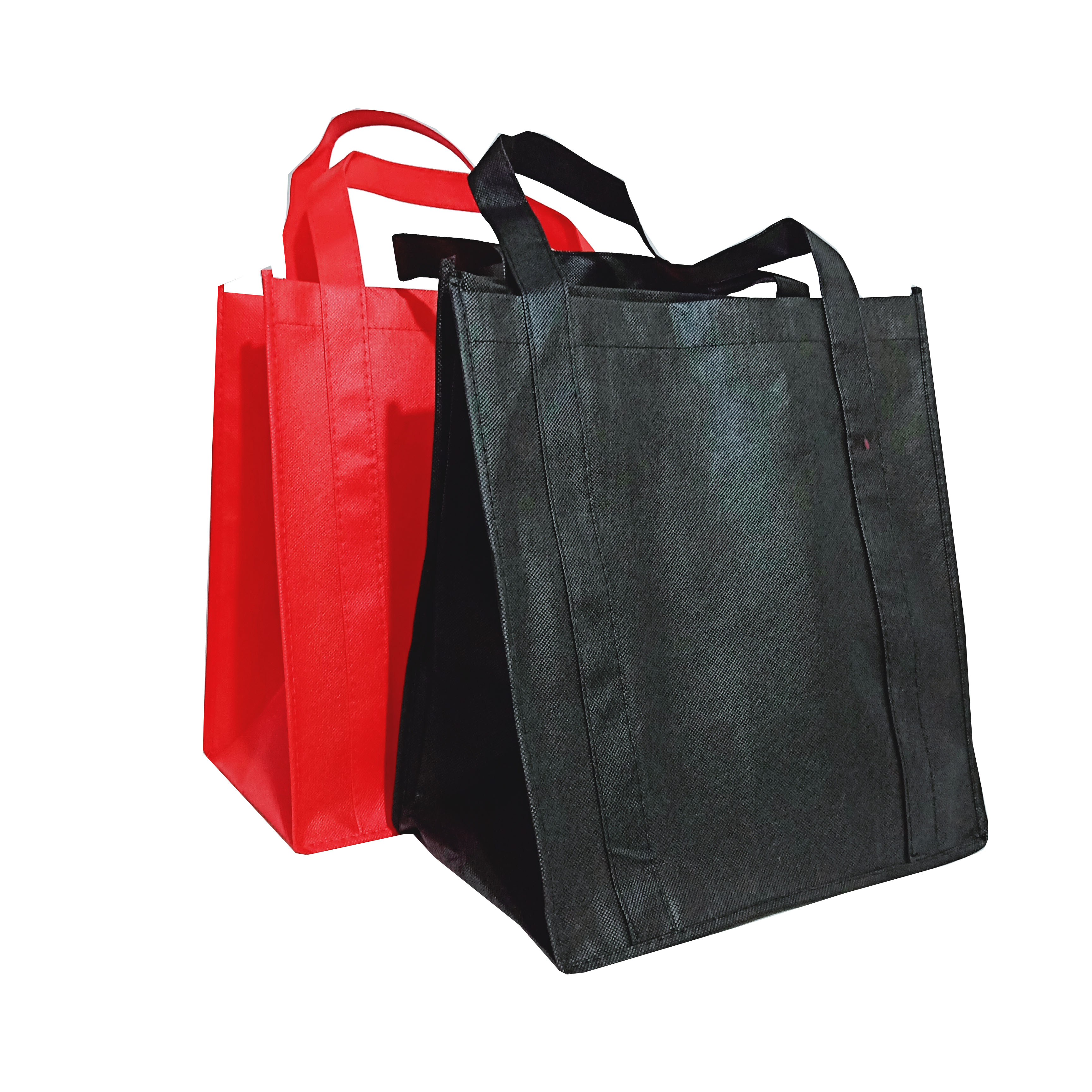 cheapest price Colorful plenty in stock ecofriendly custom color super absorben non woven shopping bag for <strong>promotion</strong>