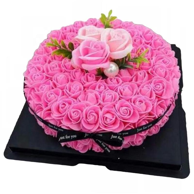Прикольные картинки, открытки с тортами и розами