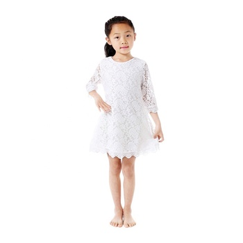 vintage lace baby girl summer dress children girl dress 2 year old girl dress