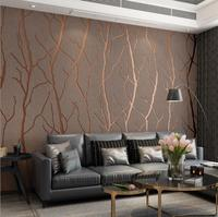 Mould-Proof Simplicity is concave and convex stereoscopic 3D marble deerskin flocking wallpaper