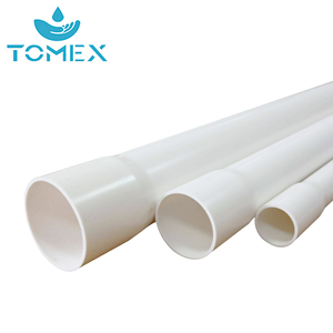 China Supplier Manufacturing 2 Inch Schedule 40 PVC Plastic Pipe for Water Supply