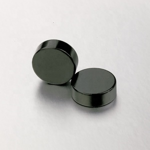 neodymium NdFeB Round magnets colored black coating color black magnet