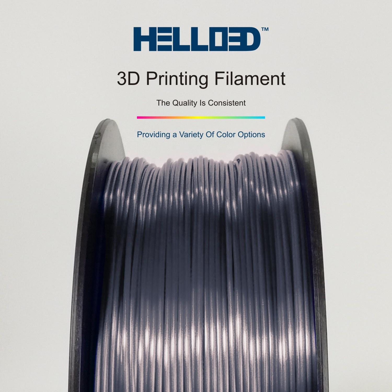 Computers/tablets & Networking 3d Printer Consumables Nice Monofilament 3d Printer Filament Pla 1.75mm 0.5kg Gray Sales Of Quality Assurance