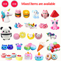 funny slow rising pu foam squishy toys new arrive scented kawaii squishy toys