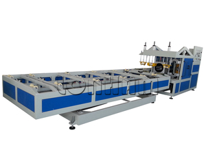 Full Auto PVC Pipe Belling Machine PVC R or U or Rectangular Socket Pipe Making Machine