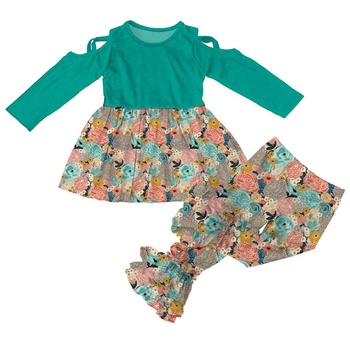 Wholesale baby clothing sets girls boutique outfits children clothes online