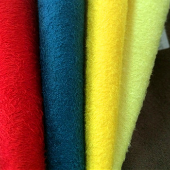 Wholesale 21S+70D Cotton Weft Spandex&Stretch&Lycra Suede Fabric
