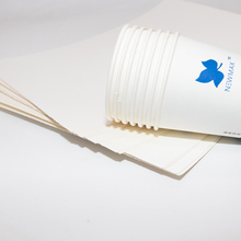 Food Grade <span class=keywords><strong>Papier</strong></span> Board Waterdichte PE Gecoat <span class=keywords><strong>Papier</strong></span> in Roll voor Cup