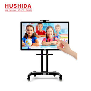 Hushida 50inch multi points touch intelligent interactive whiteboard for classroom and office