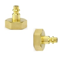 Winterize Sprinkler System Quick-Connect Plug To Lead Free Brass Female Garden Faucet Blow Out Adapter