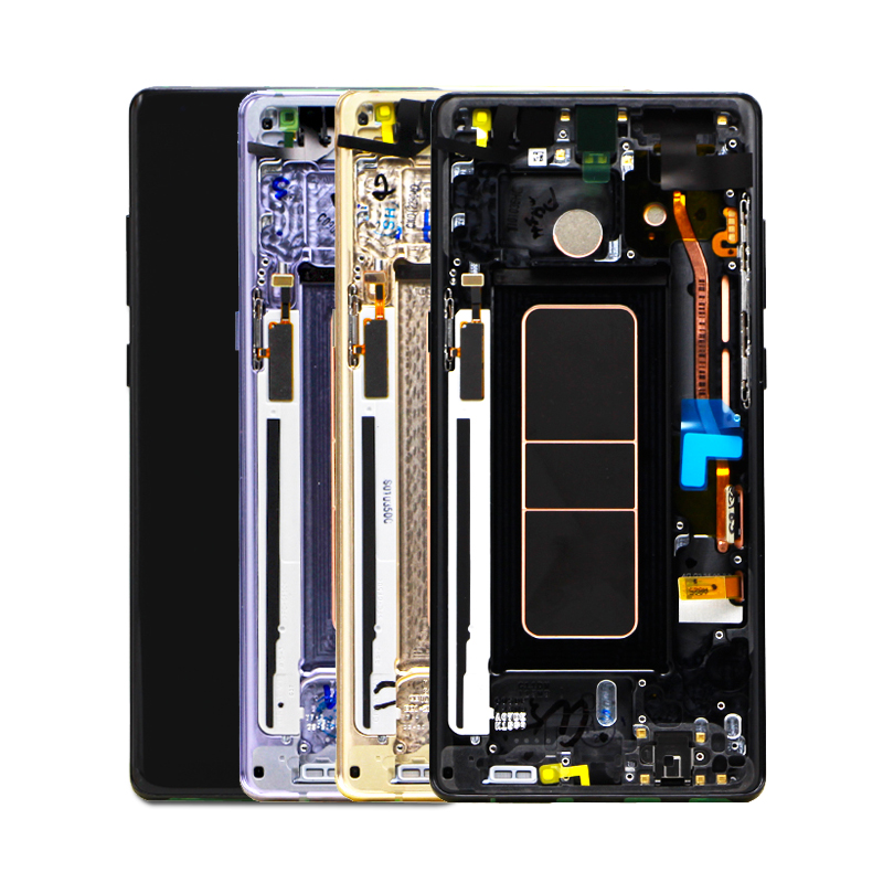 Original cell phone lcd For samsung galaxy note 8 display Assembly For samsung note 8 N950FD N950U screen note 8 lcd display