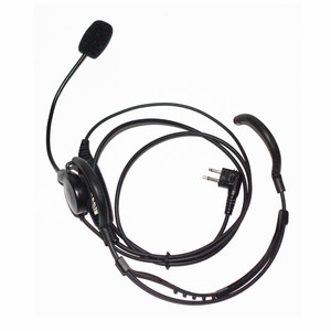 Motorola Headset Cls1410 Earpiece 2 pin Police Earpiece Headset with Finger PTT for Motorola Radio cls1110 cls1410 cp200 etc