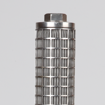 316 stainless steel melt polymer candle filter element