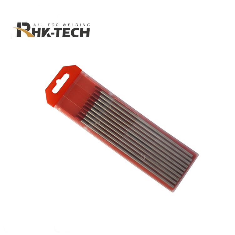 Специально designedtungsten палочки WT20 с 1,0 мм, 1,6 мм, для того, чтобы выбрать