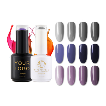 Free Sample Private Label Color LED/UV Gel Nail Polish 15ml