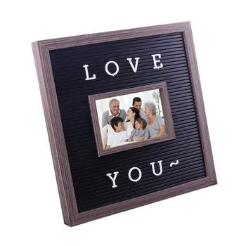 Wooden Board Creative Custom Photo Frame