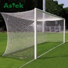 Aluminum Soccer goal with foam and PVC patent safegoal