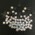 0905N Bulk Price Clear Crystal Color 34SS 7mm Hot Fix Flatback Glass Rhinestones for Clothes