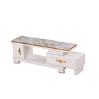 modern design white mdf live room tv stand cabinet easy assemble glossy exquisite tv stand tv table