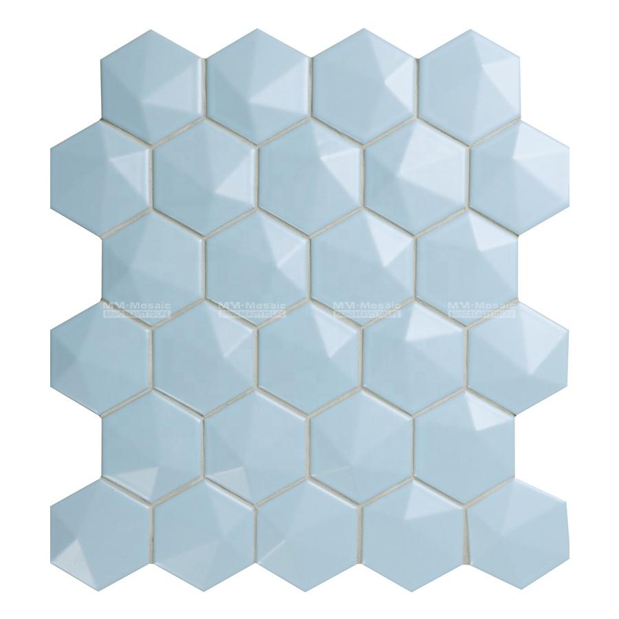Grossiste Salle De Bain Bleue Mosaique Acheter Les Meilleurs