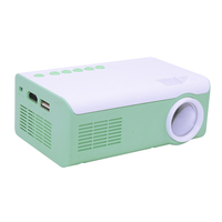 HUIMI Pocket portable mini projector 600 lumens