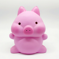 Giant Pig Squishy Jumbo Scented Slow Rising Collection Squeeze Stress Reliever Toy
