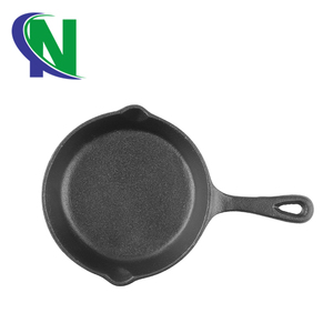 European Cookware Sets Cast Iron Skillet Set of 3 Non Stick Cast Iron Frying Pan Set For Cooking, Baking & Broiling