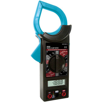 EM266 Digital Clamp Meter 3 1/2 digits LCD Display AC Current Measurement Up to 1000A Data Hold